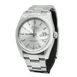 ROLEX DATEJUST OYSTER PERPETUAL 36MM AUTOMATIC WATCH